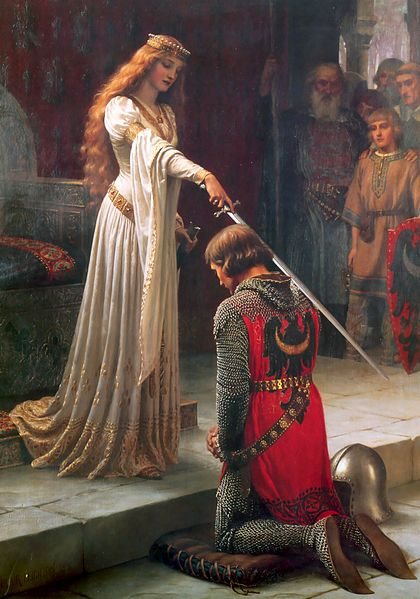 The Accolade (1901) By Edmund Blair Leighton
