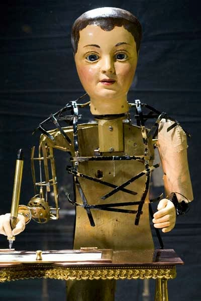 "Automaton ""Draughtsman-Writer"" at the Franklin Institute in Philadephlia"